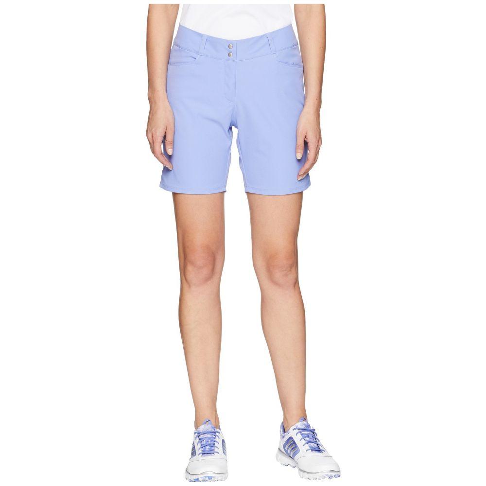 アディダス レディース ゴルフ ボトムス・パンツ【Essential Shorts 7】Chalk Purple