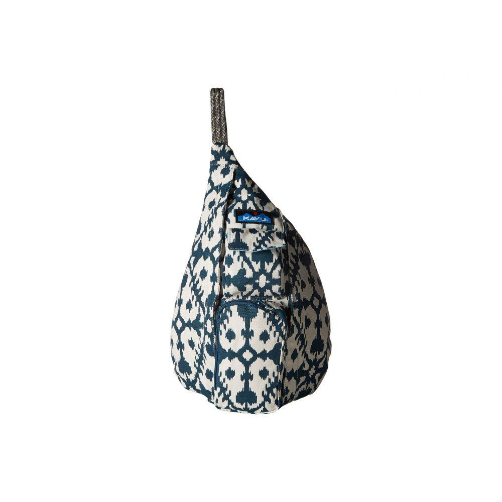 カブー レディース バッグ バックパック・リュック【Mini Rope Bag】Blue Blot