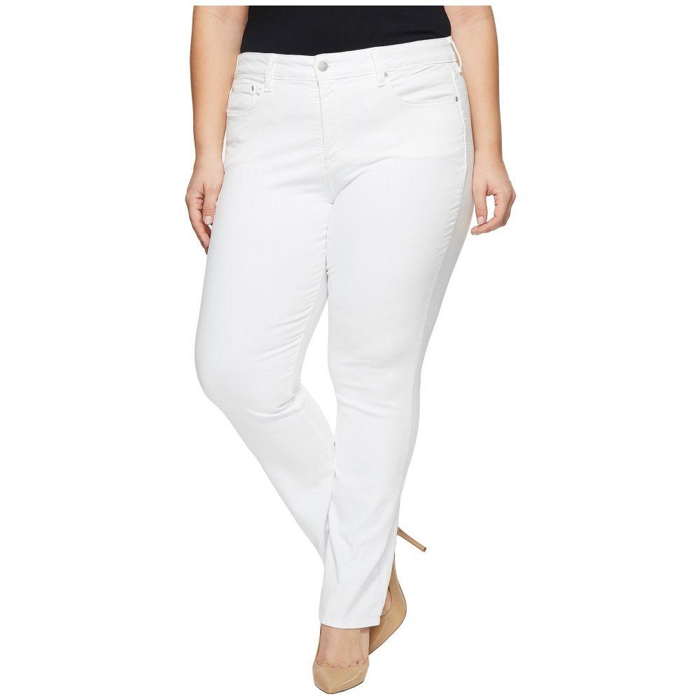 NYDJ レディース ボトムス・パンツ ジーンズ・デニム【Plus Size Marilyn Straight in Optic White】Optic White