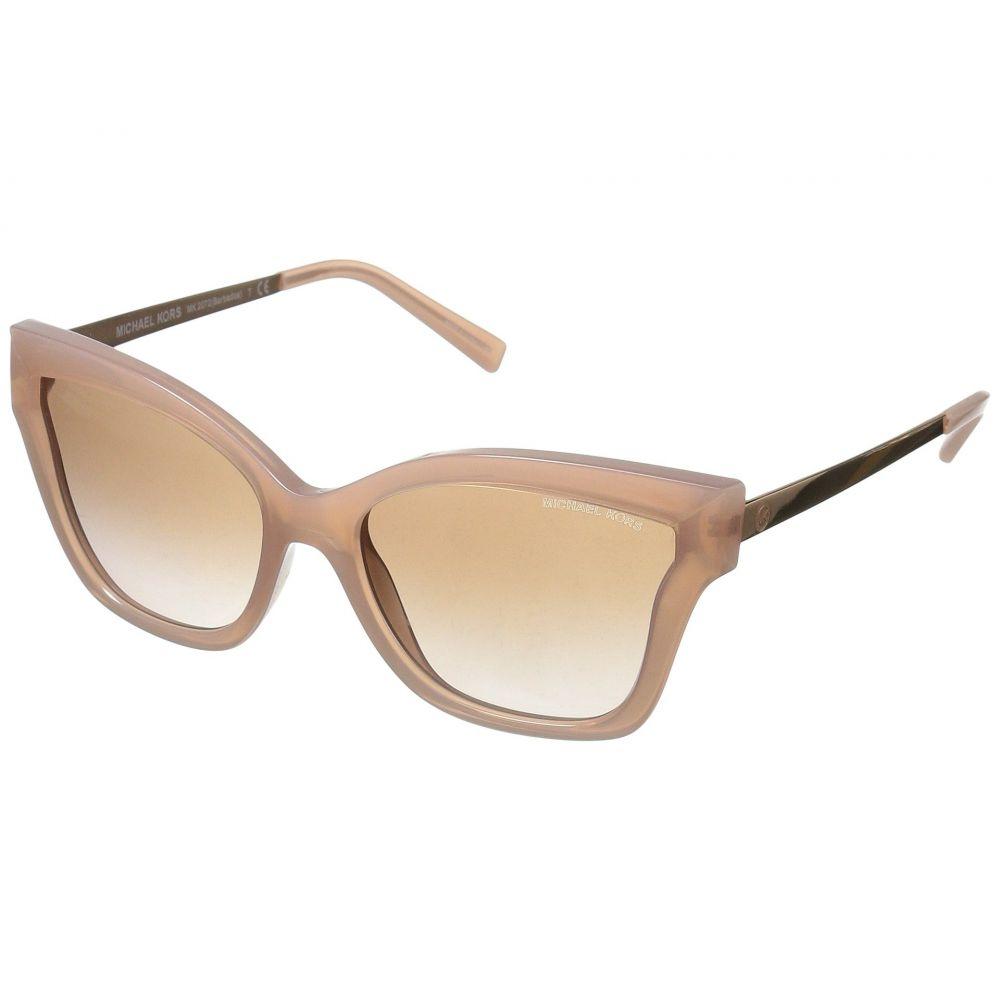 マイケル コース レディース メガネ・サングラス【Barbados 0MK2072 56mm】Milky Pink Injected/Brown Peach Gradient