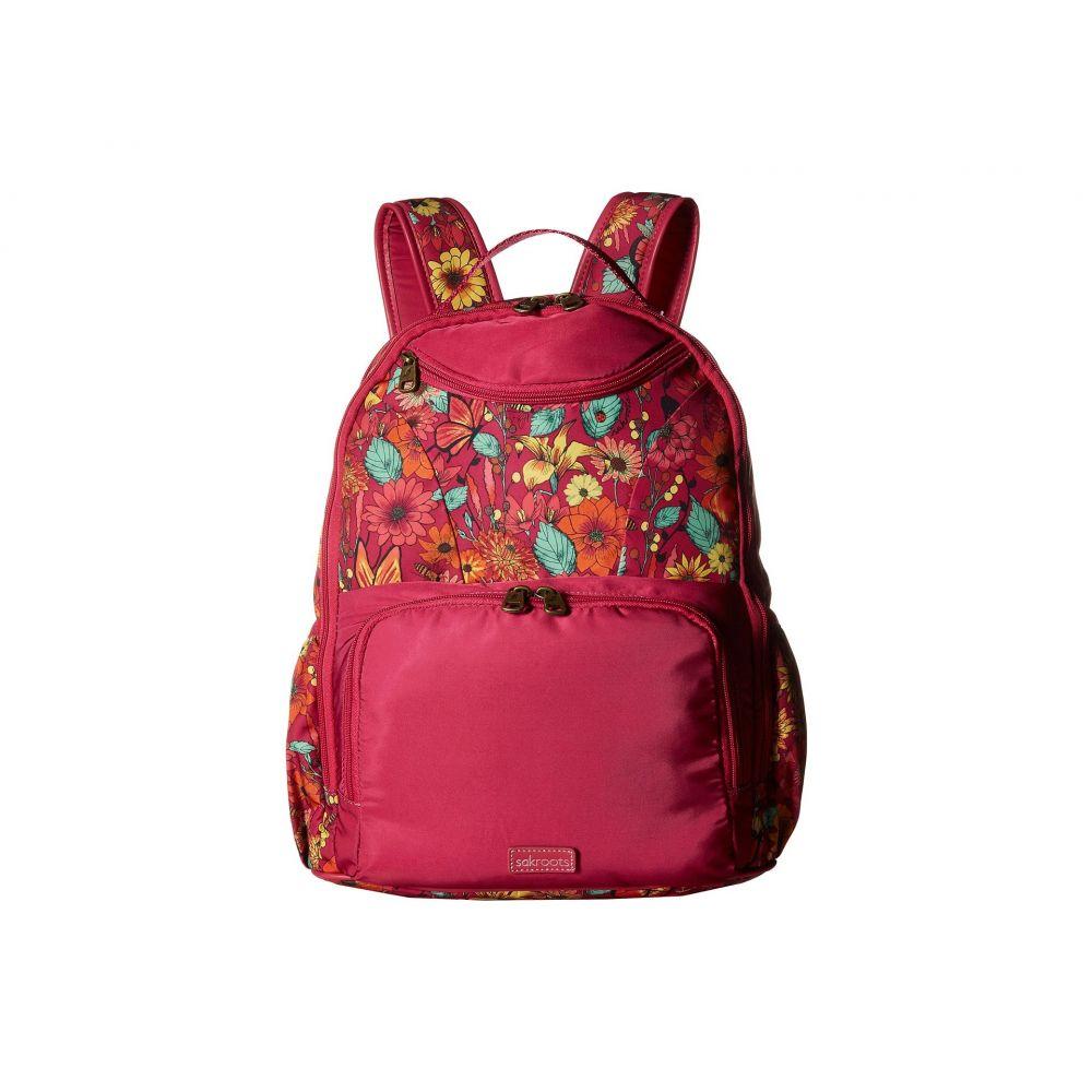 サックルーツ レディース バッグ バックパック・リュック【Madison Backpack】Raspberry in Bloom