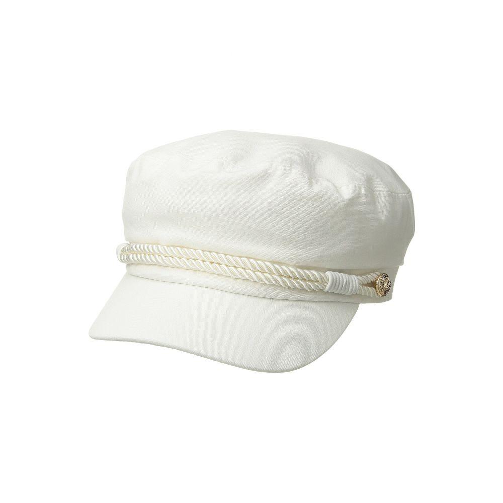 ハットアタック レディース 帽子【Summer Emmy Newsboy Cap】White