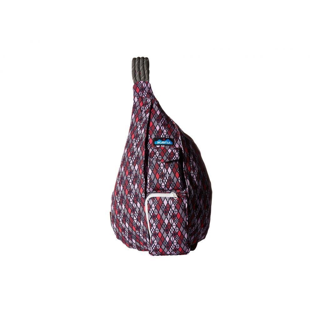 カブー レディース バッグ バックパック・リュック【Rope Bag】Diamonds