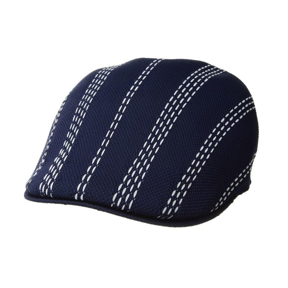 カンゴール レディース 帽子【Float Stripe 507】Navy/White