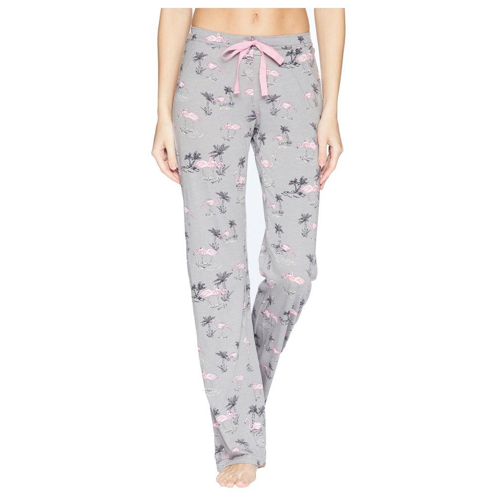 ピー ジェイ サルベージ レディース インナー・下着 パジャマ・ボトムのみ【Playful Prints Flamingo Pants】Grey