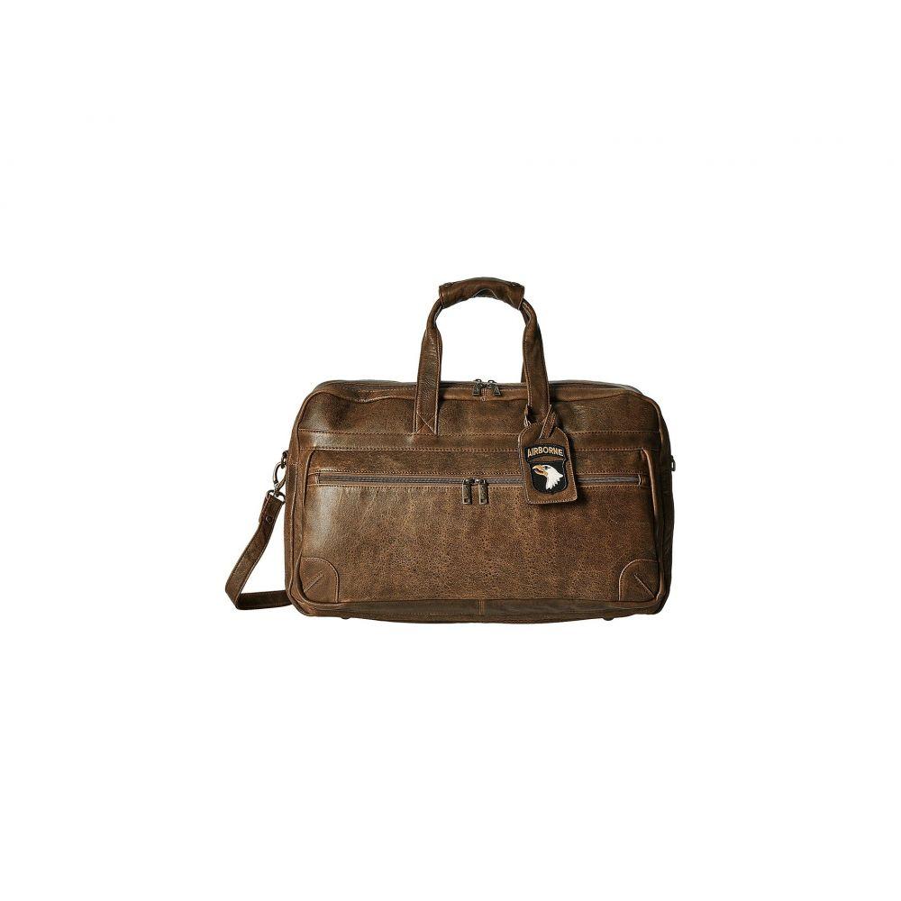 スカーリー レディース バッグ ボストンバッグ・ダッフルバッグ【Squadron Large Duffel w/ 81st Aero Squadron Luggage Tag】Brown