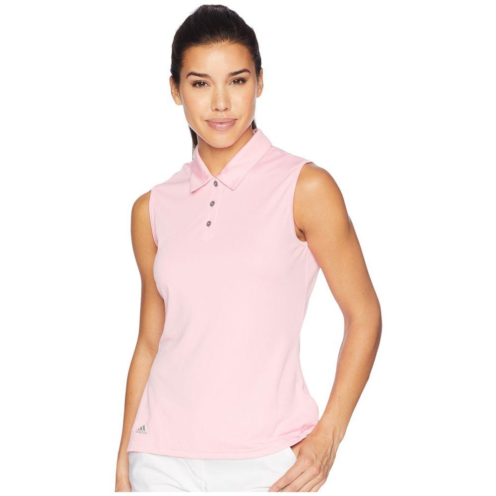 【即日発送】 アディダス ゴルフ レディース ゴルフ トップス アディダス【Performance Sleeveless Polo】Light Polo】Light Pink, 都祁村:d75098e3 --- blablagames.net