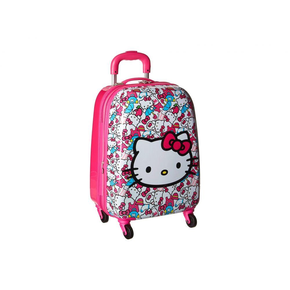 ヘイズ レディース バッグ スーツケース・キャリーバッグ【Hello Kitty Tween Spinner Luggage】Pink