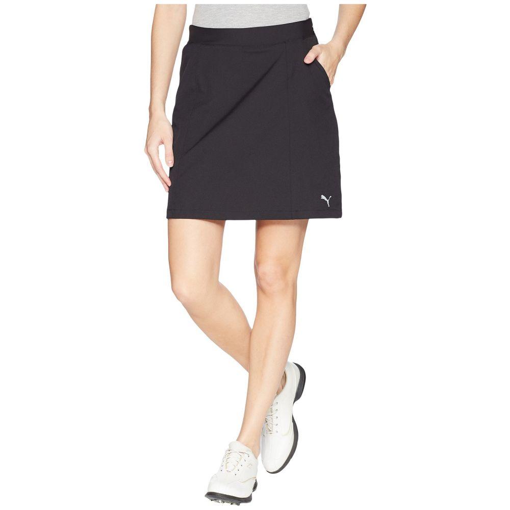 プーマ レディース ゴルフ ボトムス・パンツ【18 Pounce Skirt】PUMA Black