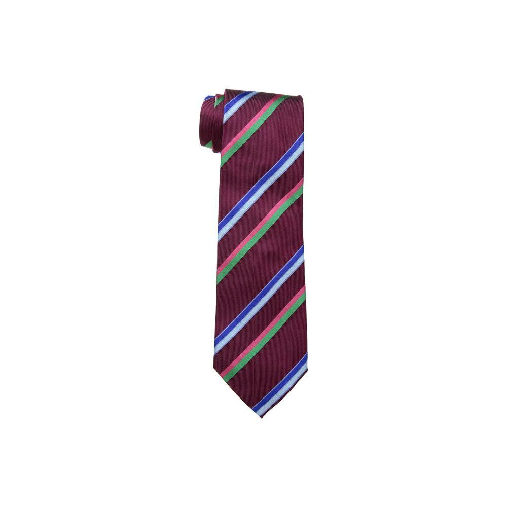 エトロ メンズ ネクタイ【Striped Tie】Red