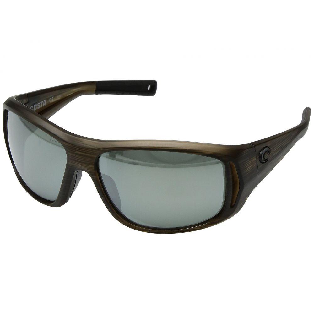 コスタ メンズ スポーツサングラス【Montauk】Bowfin Frame/Gray/Silver Mirror 580G