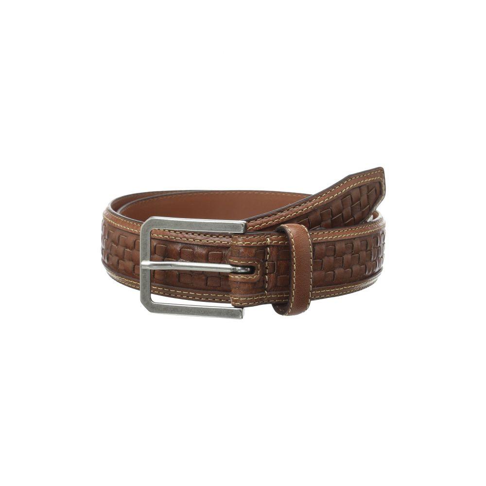 ジョンストン&マーフィー メンズ ベルト【New Woven Belt】Tan