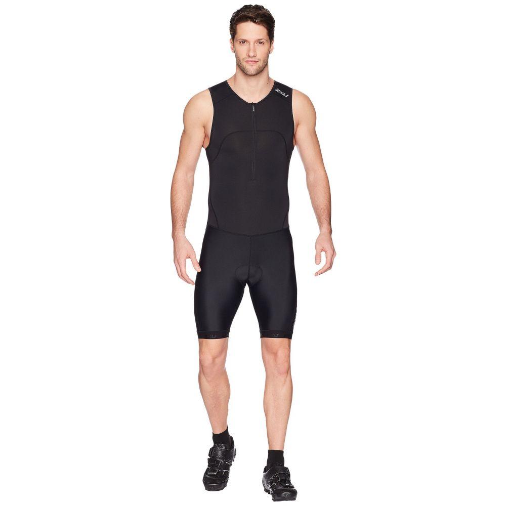 ツータイムズユー メンズ 水着・ビーチウェア ウェットスーツ【Active Trisuit】Black/Black