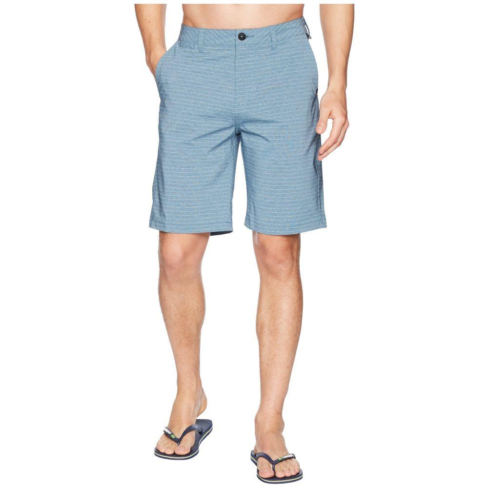 高価値 クイックシルバー メンズ Stripe バレーボール ボトムス・パンツ【Union Stripe メンズ 21 Shorts】Real Amphibian Shorts】Real Teal, ピックアップマート:ece71d1b --- trattoriarestaurant.ie