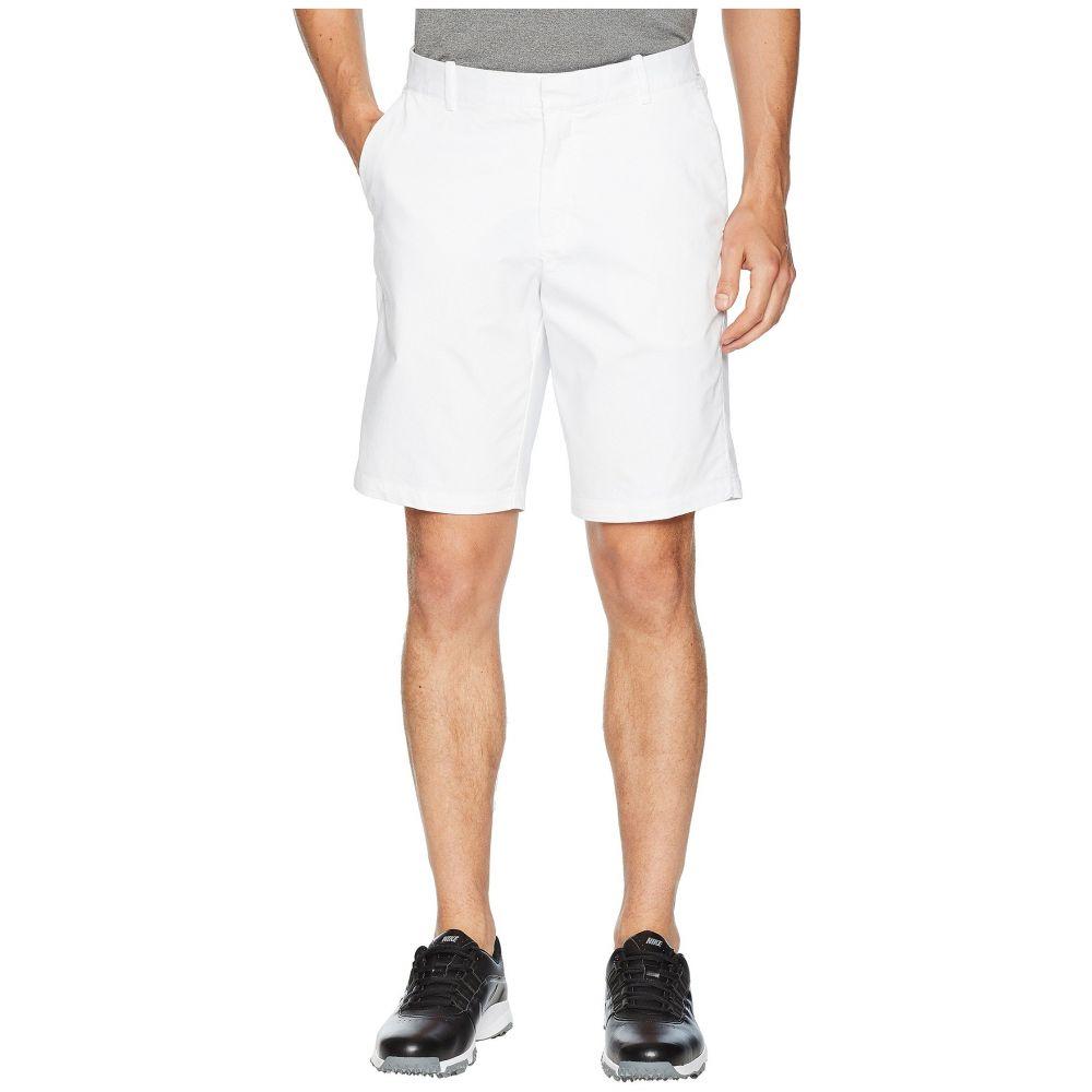ナイキ メンズ ゴルフ ボトムス・パンツ【Flex Shorts Slim Washed】White/Silver