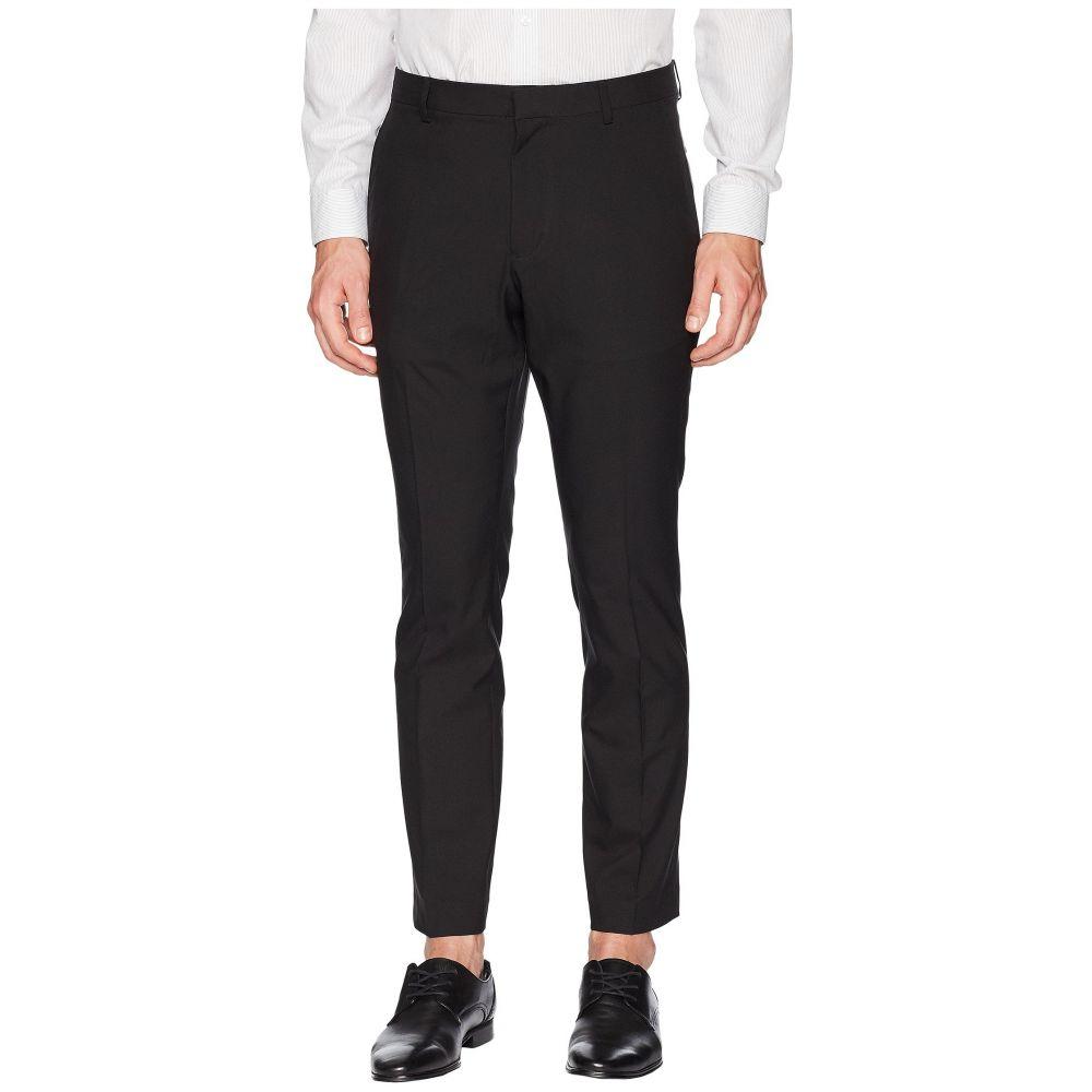 ペリー エリス メンズ ボトムス・パンツ【Very Slim Fit Solid Tech Pants】Black