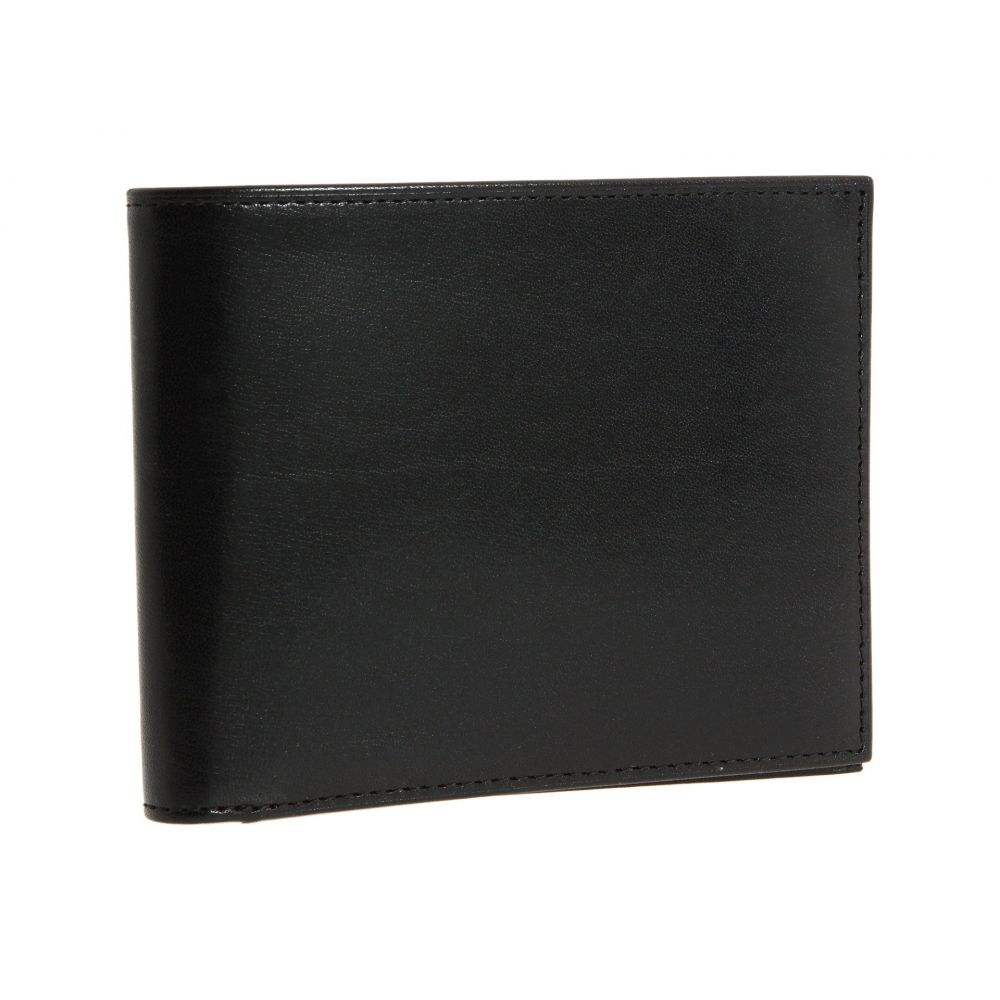 ボスカ メンズ 財布【Old Leather Collection - Executive ID Wallet】Black Leather