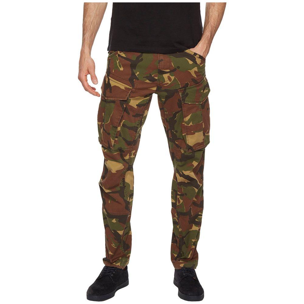 ジースター ロゥ メンズ ボトムス・パンツ カーゴパンツ【Rovic 3D Tapered Army Pants】Dark Fall All Over
