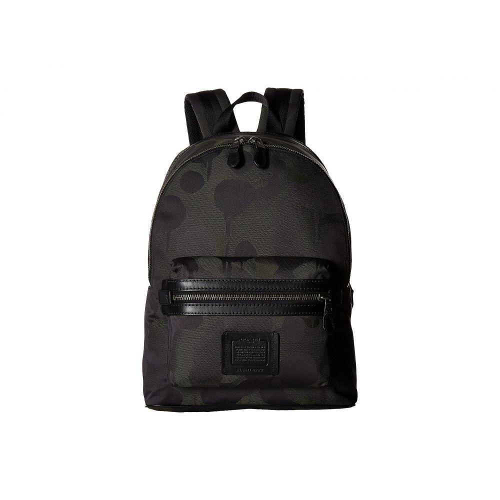 コーチ メンズ バッグ バックパック・リュック【Academy Backpack in Wild Beast Cordura】Ji/Military