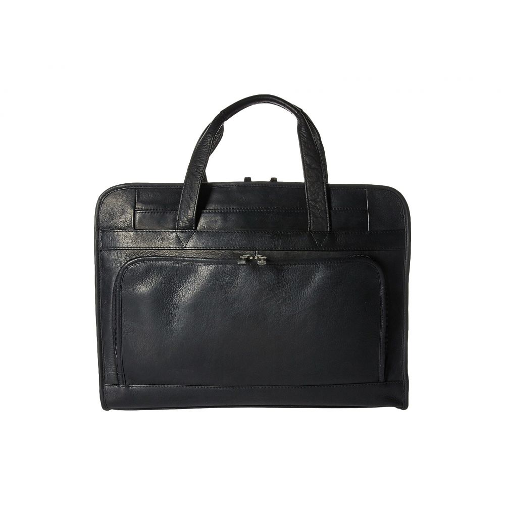 フォッシル メンズ バッグ ビジネスバッグ・ブリーフケース【Haskell Double Zip Workbag】Black