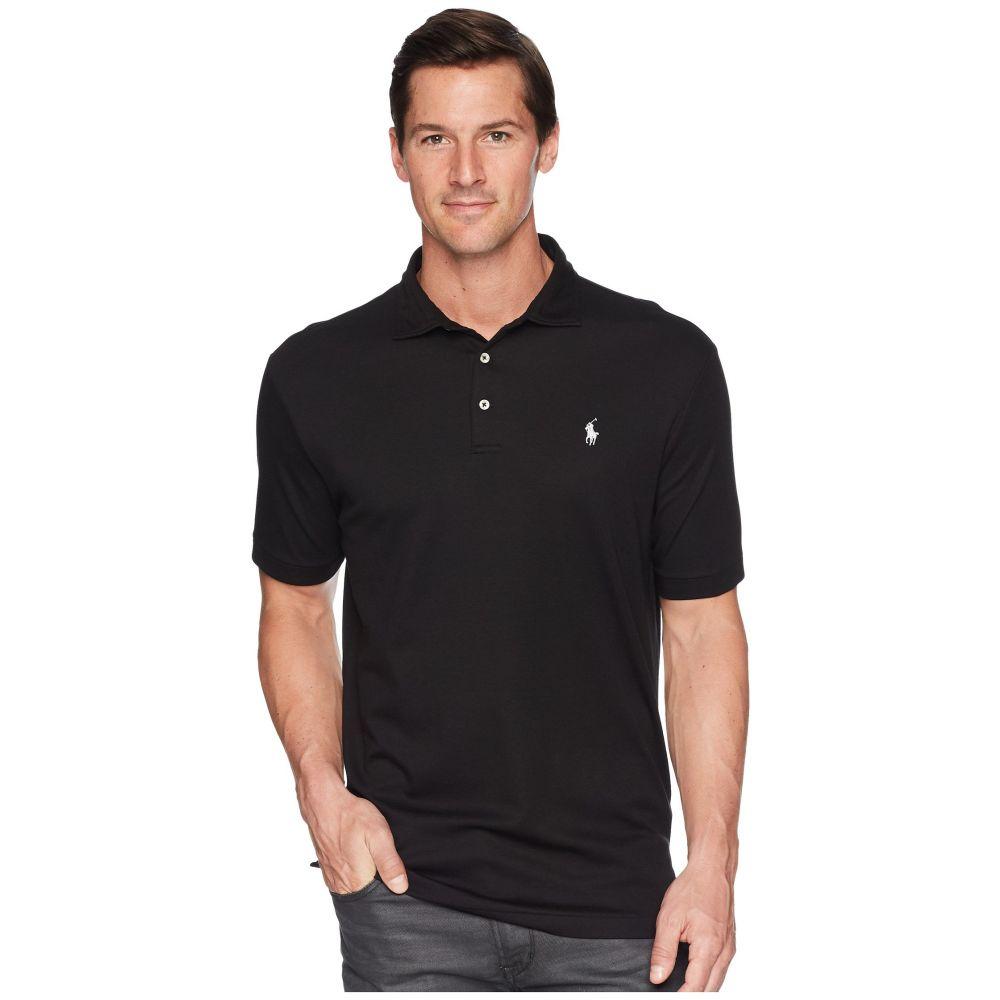 ラルフ ローレン メンズ トップス ポロシャツ【Pima Polo Short Sleeve Knit】Polo Black