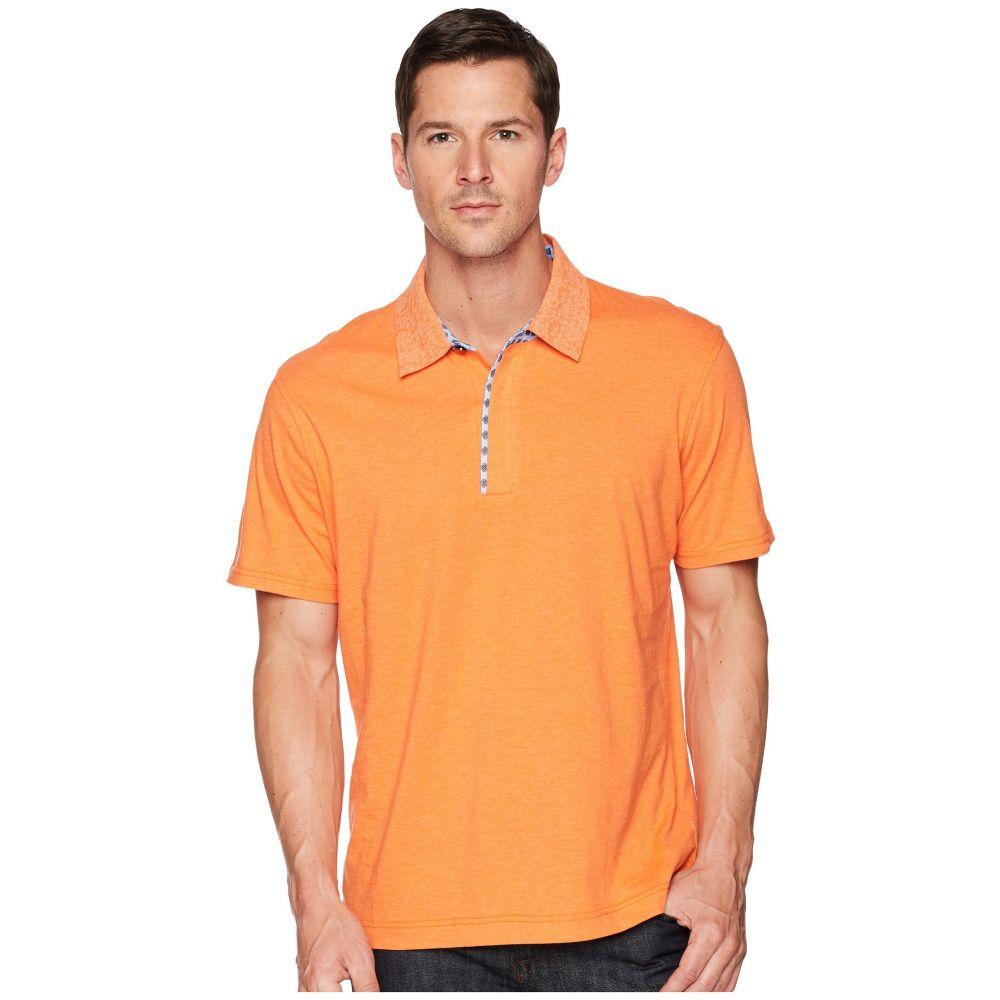ロバートグラハム メンズ トップス ポロシャツ【Diego Short Sleeve Knit Polo】Orange