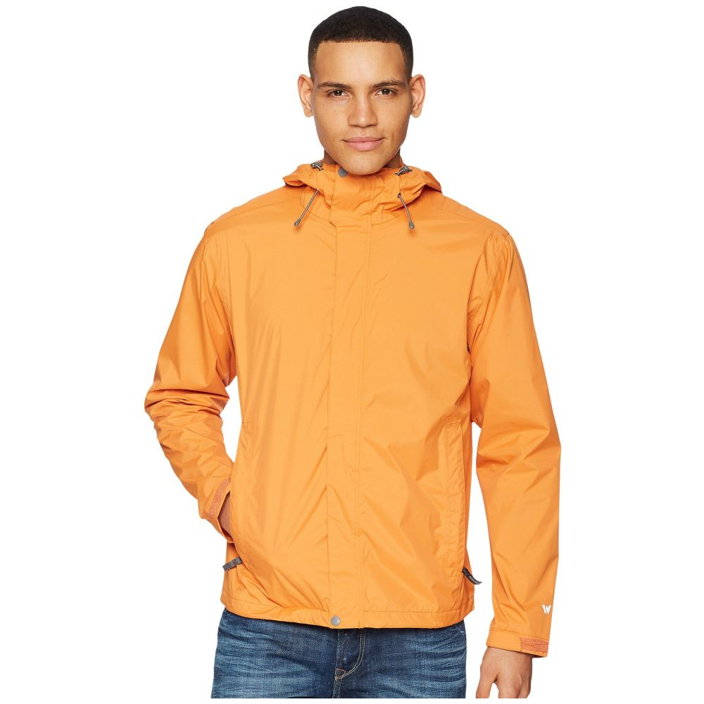 ホワイトシエラ メンズ アウター レインコート【Trabagon Jacket】Burnt Orange