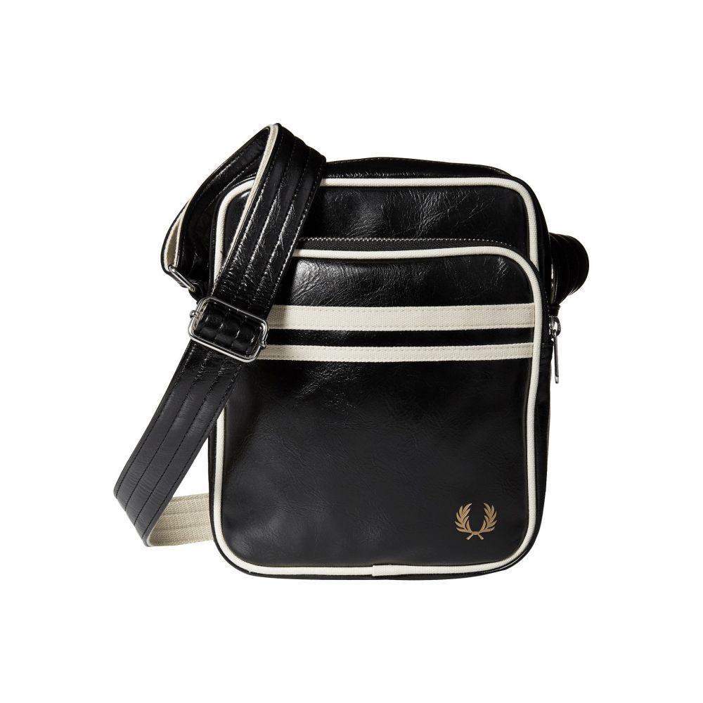 フレッドペリー メンズ バッグ ショルダーバッグ【Twin Tipped Crossbody Bag】Black/Ecru