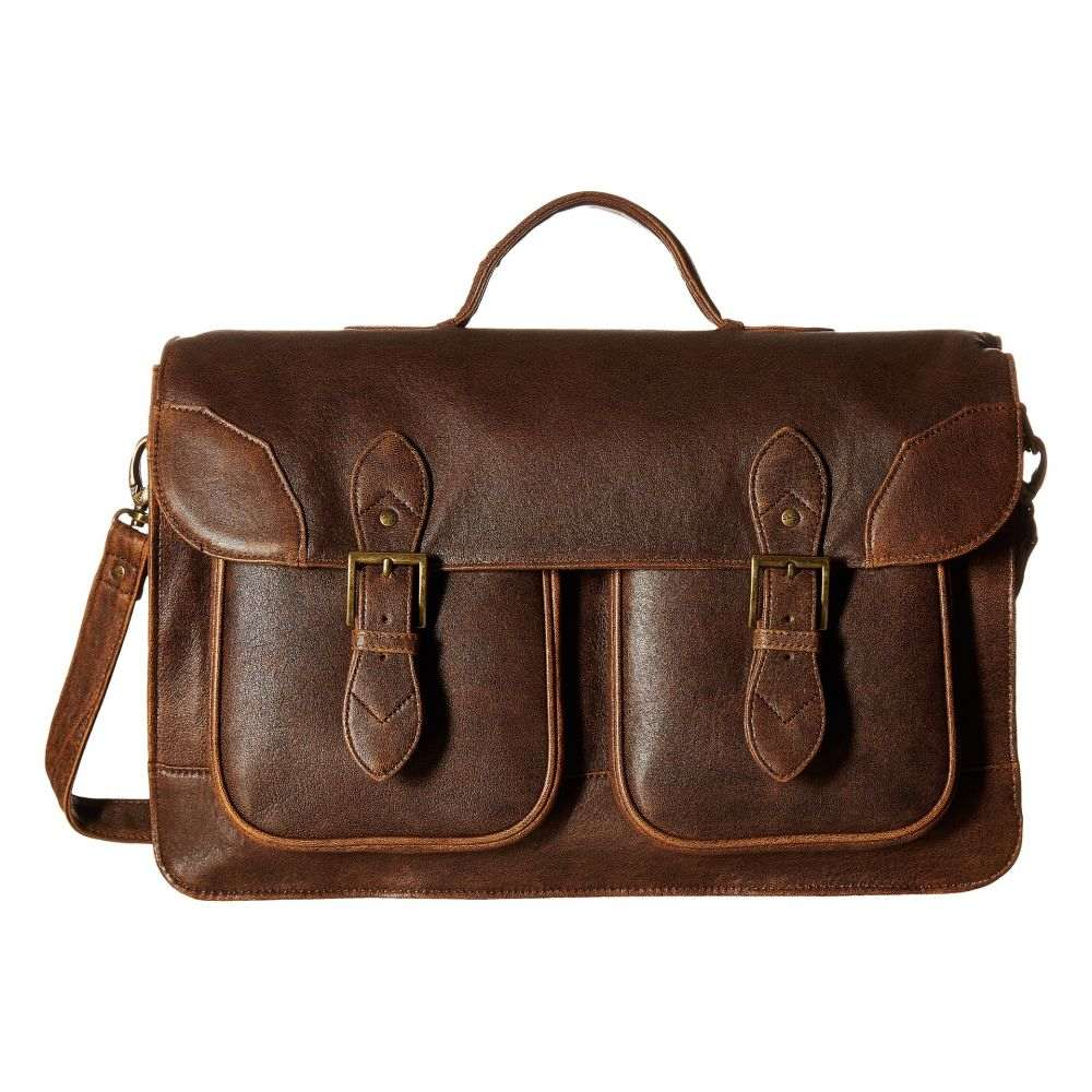 スカーリー メンズ バッグ ビジネスバッグ・ブリーフケース【Squadron School Bag】Antique Brown