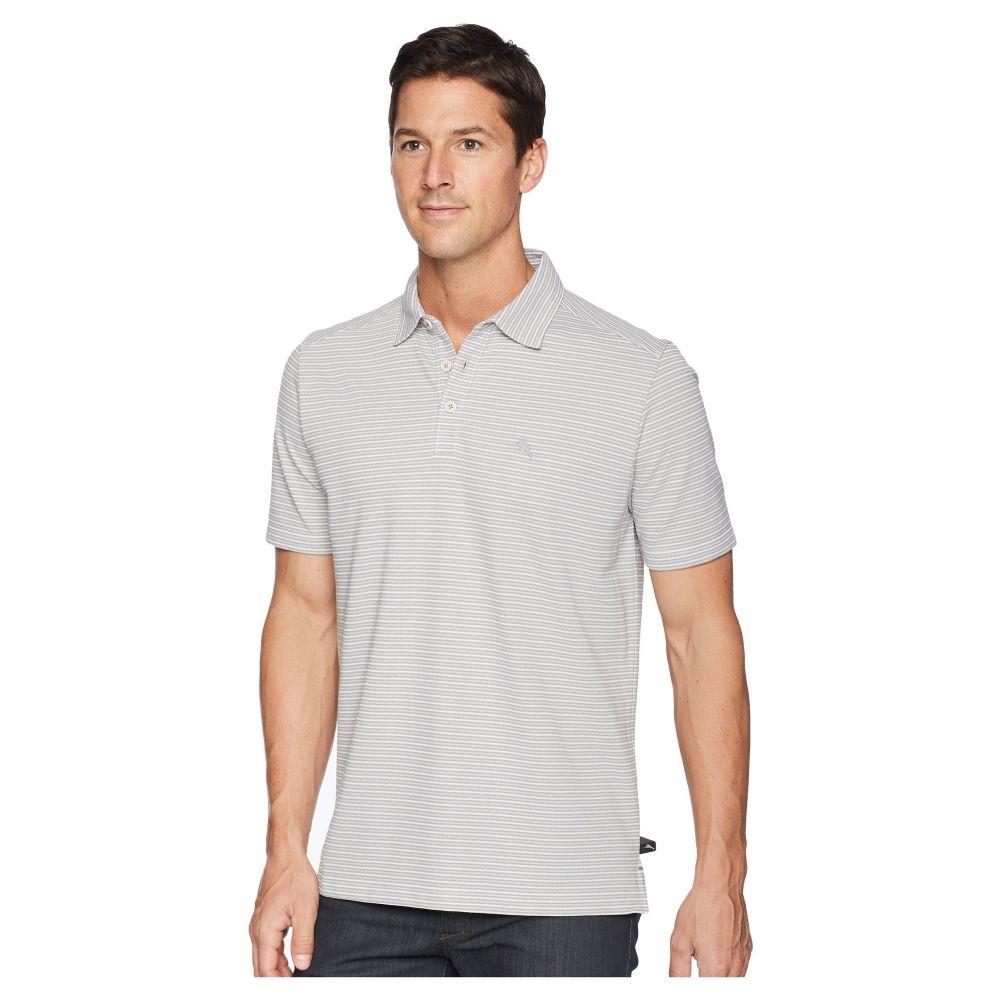 トミー バハマ メンズ ゴルフ トップス【Marina Marlin Polo Shirt】Sleet