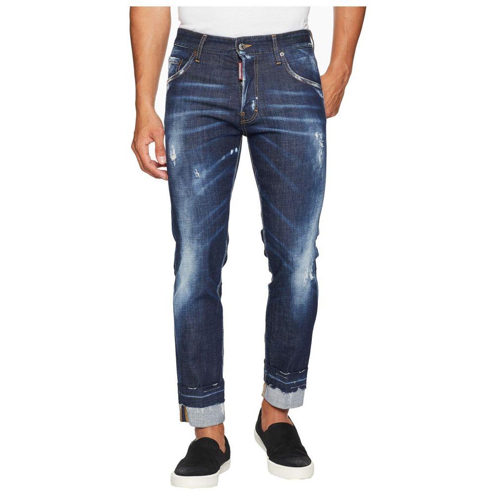 ディースクエアード メンズ ボトムス・パンツ ジーンズ・デニム【Off the Cuff Run Dan Jeans】Blue