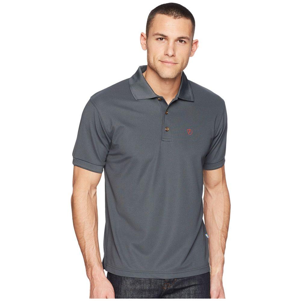フェールラーベン メンズ トップス ポロシャツ【Crowley Pique Shirt】Mountain Grey