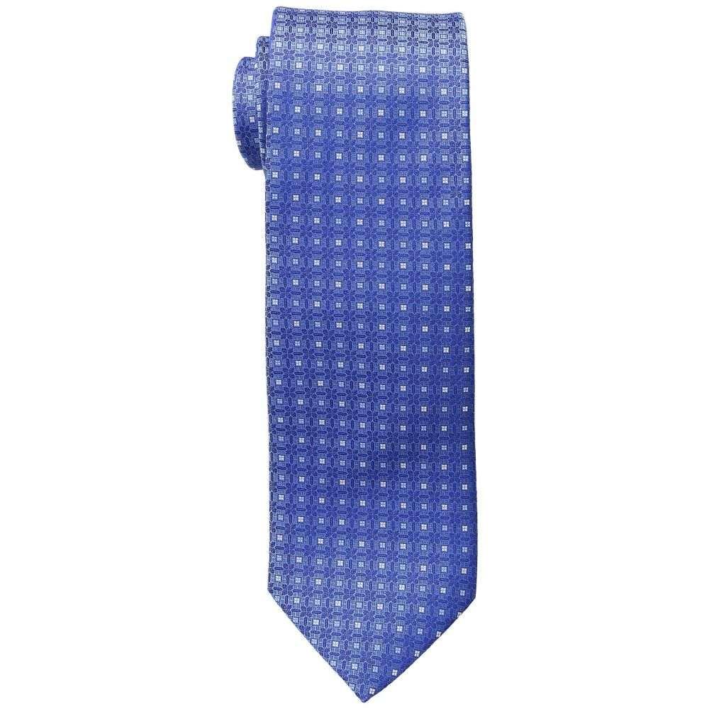 イートン メンズ ネクタイ【Medallion Tie】Blue
