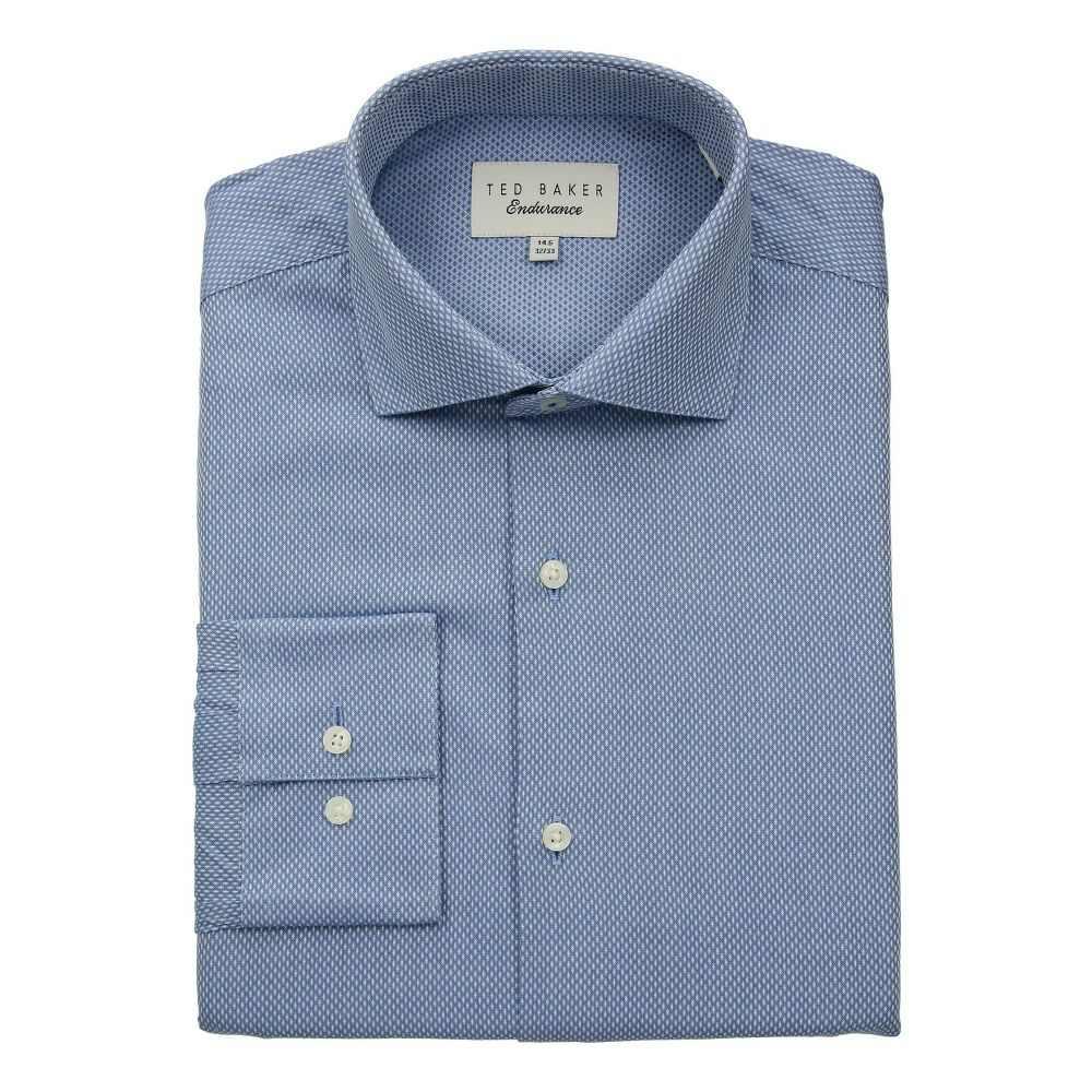 テッドベーカー メンズ トップス シャツ【Endurance Slick Rick Shirt】Blue