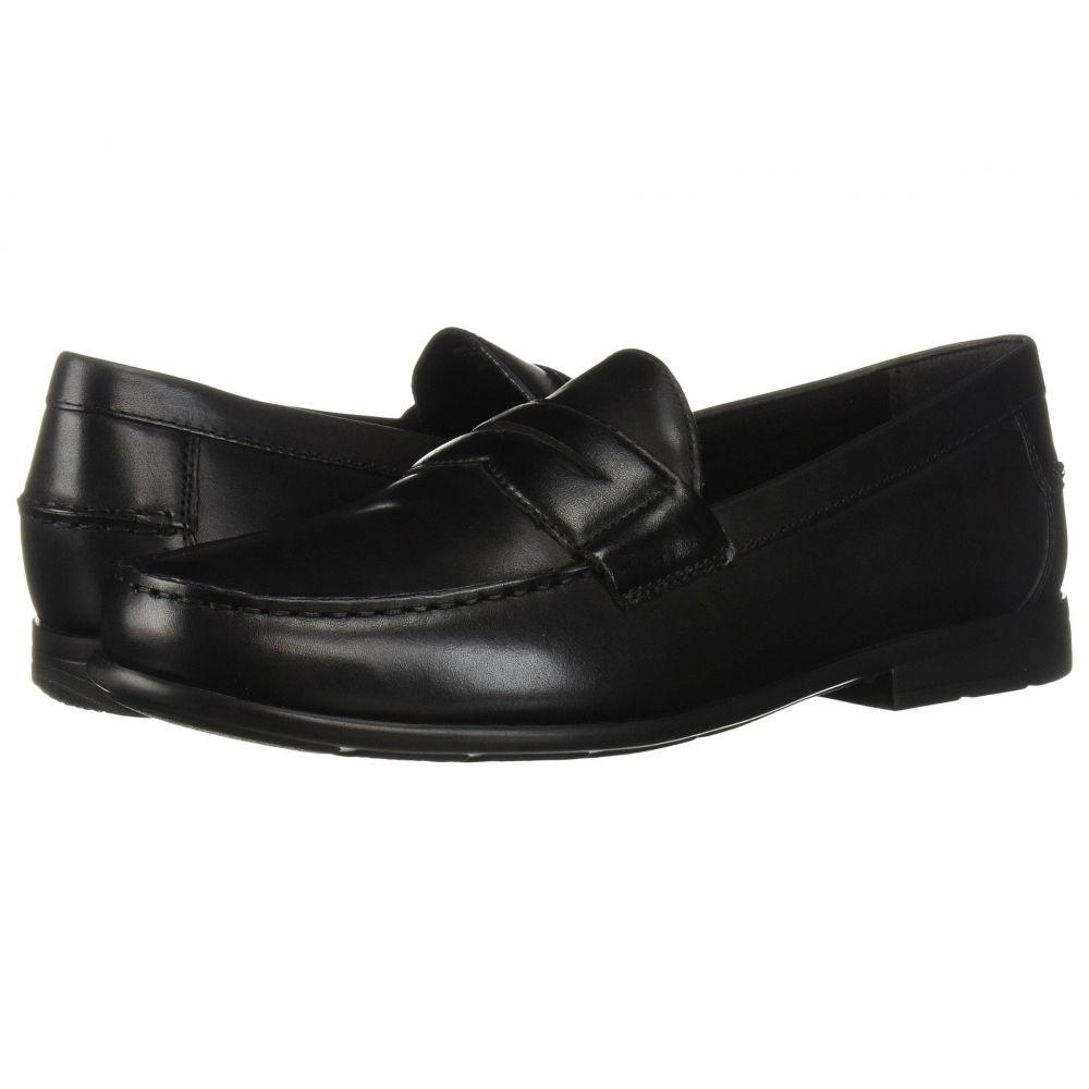 ナンブッシュ メンズ シューズ・靴 ローファー【Drexel Moc Toe Penny Loafer with KORE Walking Comfort Technology】Black