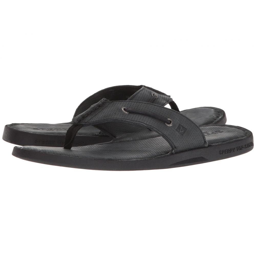 スペリー メンズ シューズ・靴 サンダル【A/O Sandal Thong】Black