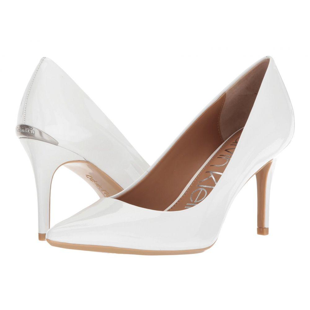 カルバンクライン レディース シューズ・靴 パンプス【Gayle Pump】Platinum White