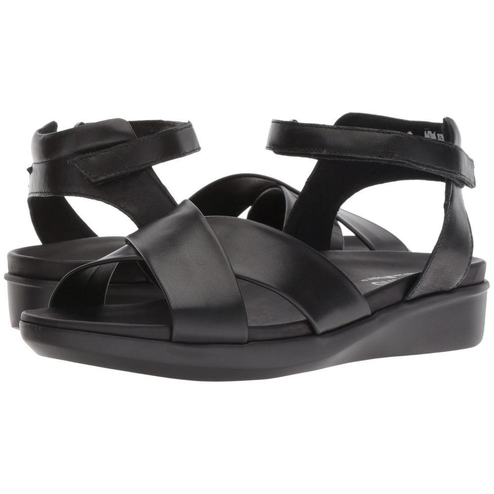 シューズ・靴 マンロー Kid Leather サンダル・ミュール【Brinn】Black レディース
