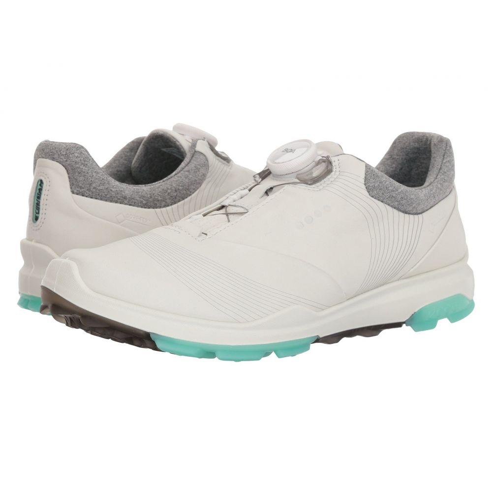 【正規通販】 エコー Boa】White/Emerald レディース ゴルフ レディース シューズ・靴 Hybrid【Biom Hybrid 3 Boa】White/Emerald, ニシタガワグン:ac494f38 --- canoncity.azurewebsites.net