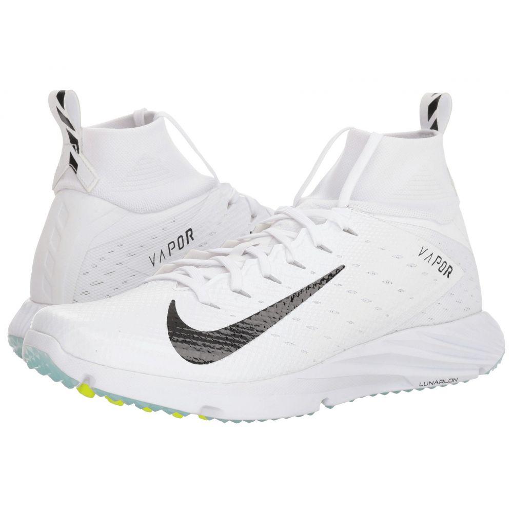 ナイキ メンズ アメリカンフットボール シューズ・靴【Vapor Speed Turf 2】White/Black