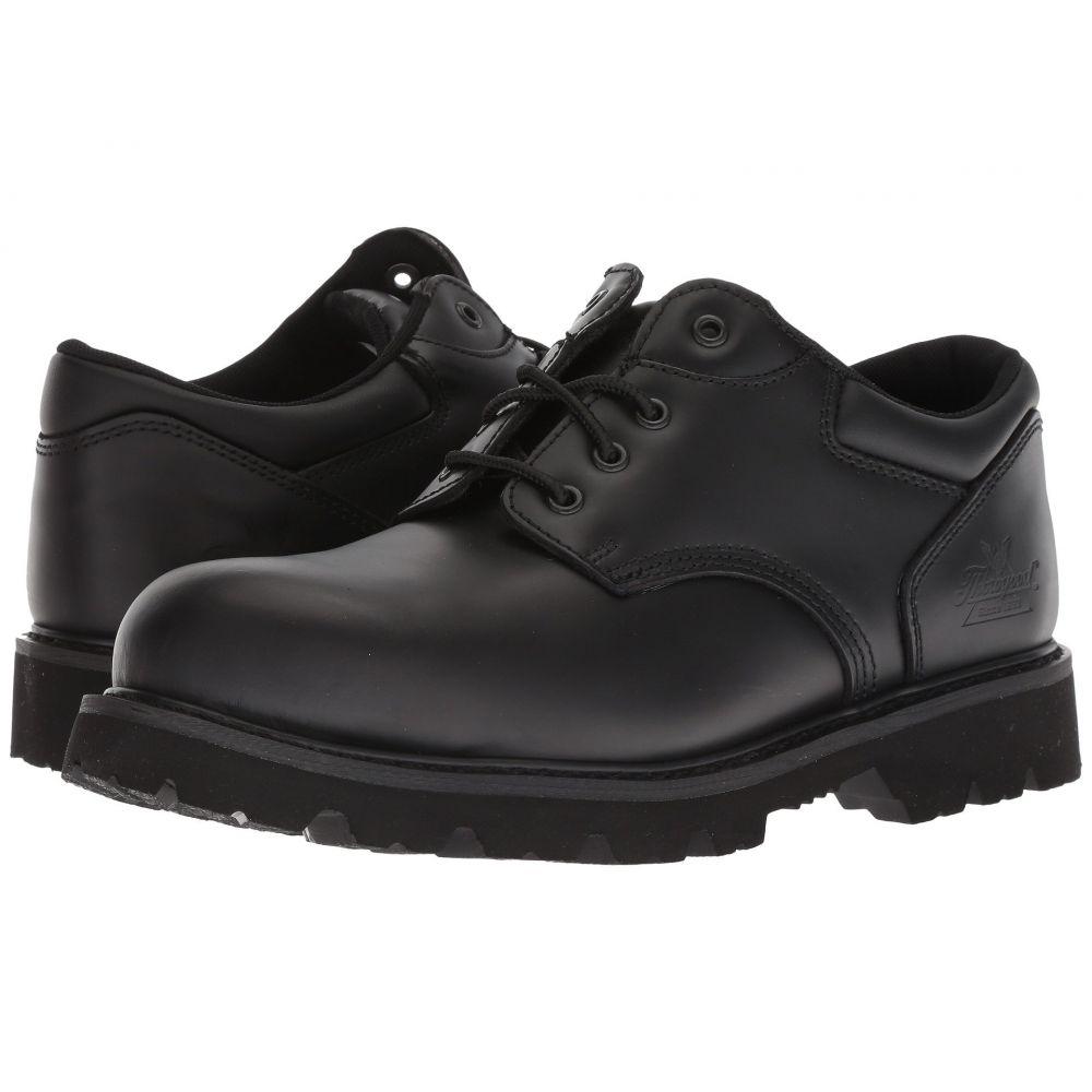 ソログッド メンズ シューズ・靴 革靴・ビジネスシューズ【Uniform Classic Leather Oxford Steel Safety Toe】Black
