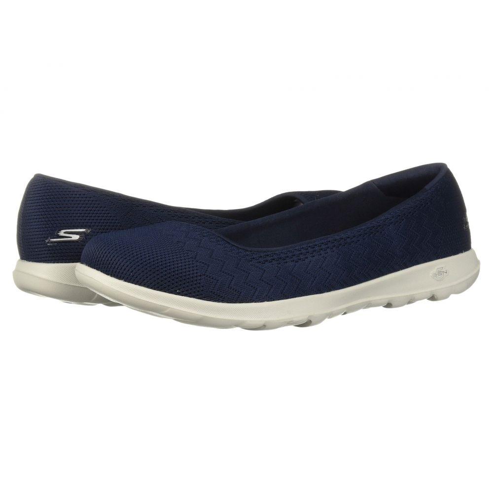 スケッチャーズ レディース フィットネス・トレーニング シューズ・靴【GOwalk Lite - Dreamer Wide】Navy/Gray