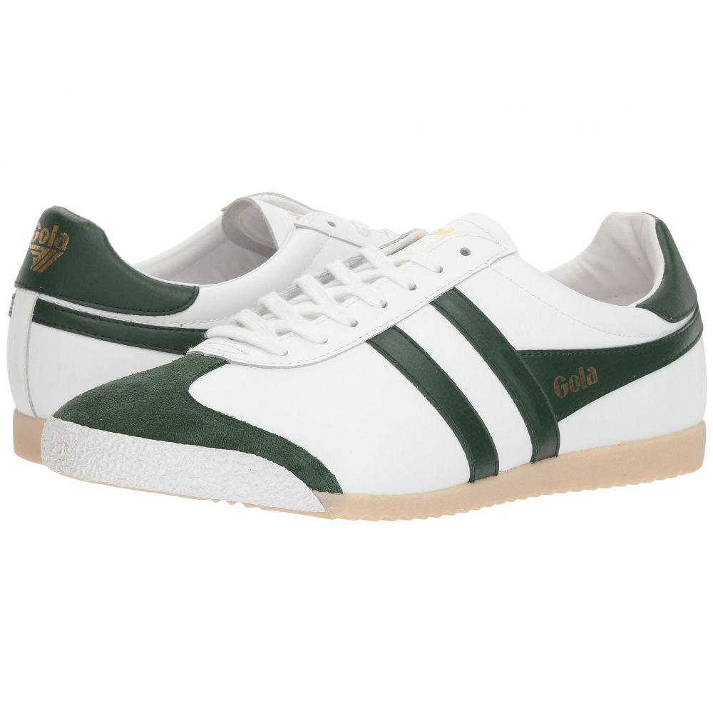ゴーラ メンズ シューズ・靴 スニーカー【Harrier 50 Leather】White/Green