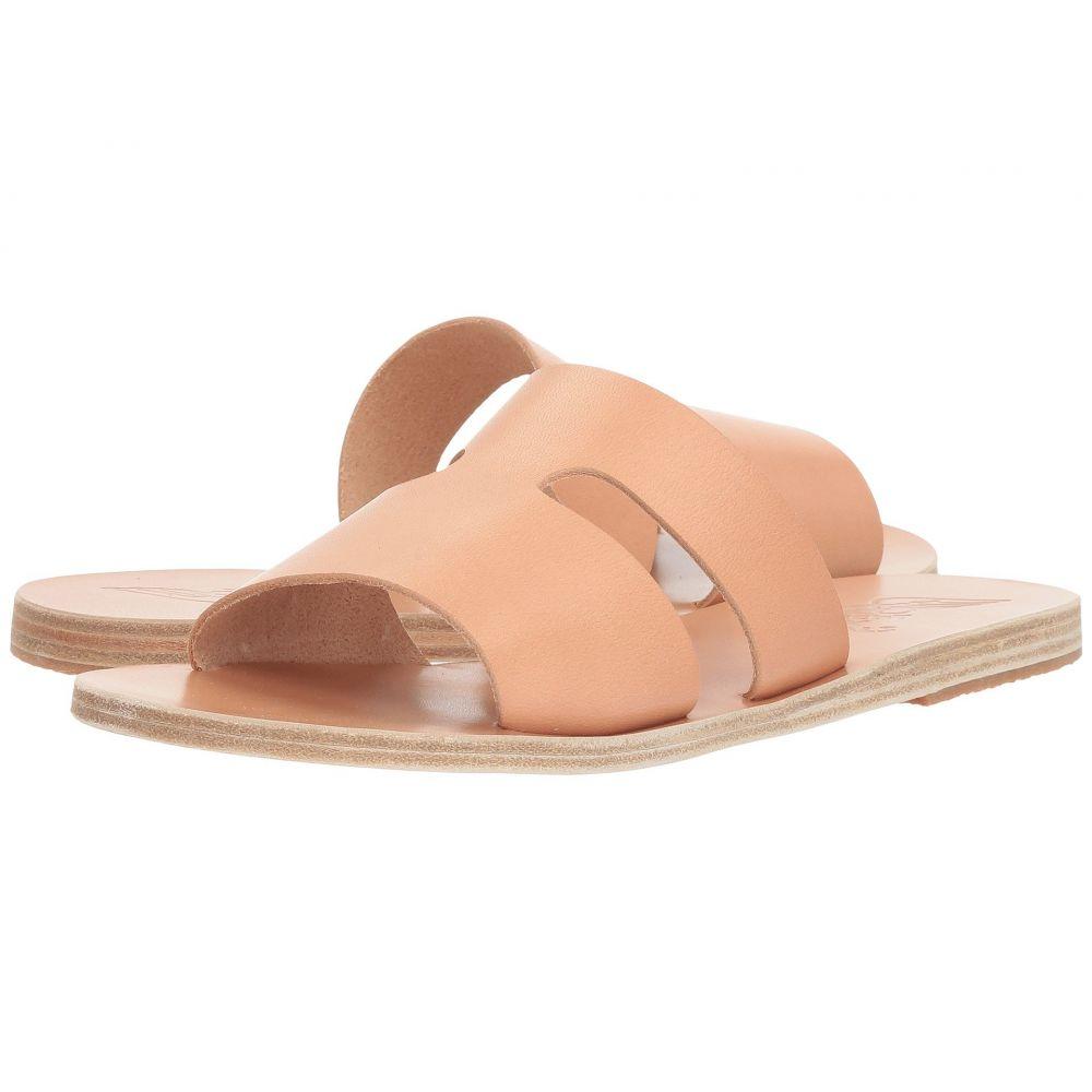 サンダルズ グリーク エンシェント レディース サンダル・ミュール【Apteros】Natural Vachetta シューズ・靴