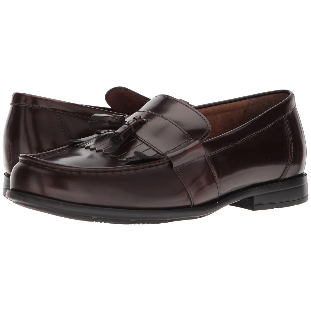 ナンブッシュ メンズ シューズ・靴 ローファー【Denzel Moc Toe Kiltie Tassel Slip-On KORE Walking Comfort Technology】Burgundy