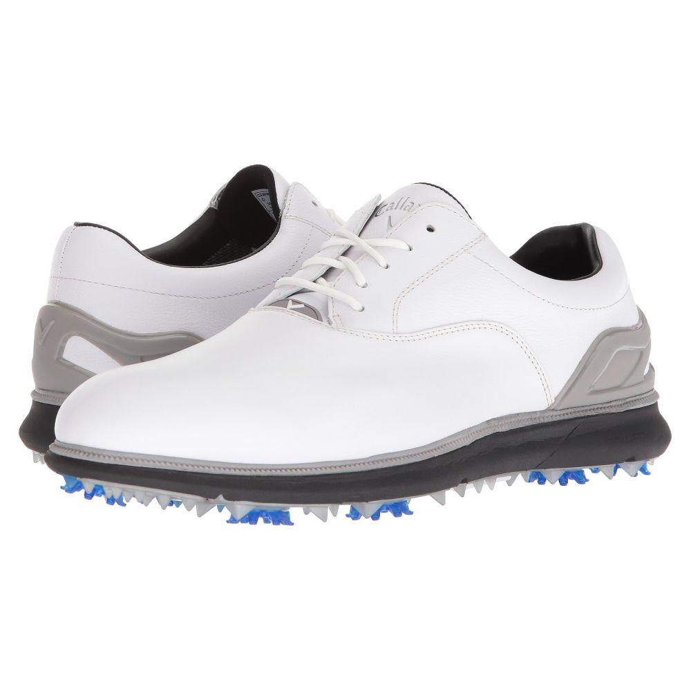 ブランド品専門の キャロウェイ メンズ ゴルフ シューズ・靴【La メンズ Grange ゴルフ】White/Black, 【在庫処分】:ade9fb24 --- subvention.hu