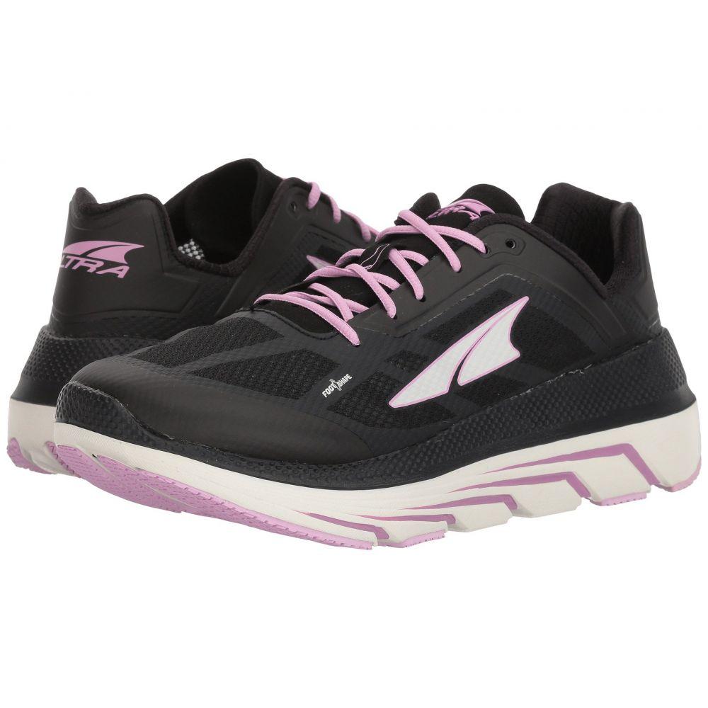 アルトラ レディース ランニング・ウォーキング シューズ・靴【Duo】Black/Pink
