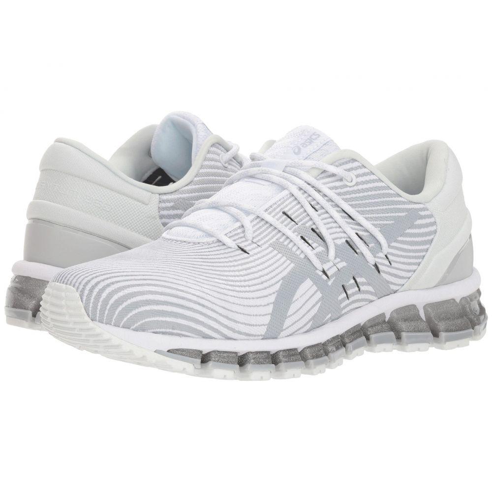 アシックス レディース ランニング・ウォーキング シューズ・靴【GEL-Quantum 360 4】White/Mid Grey