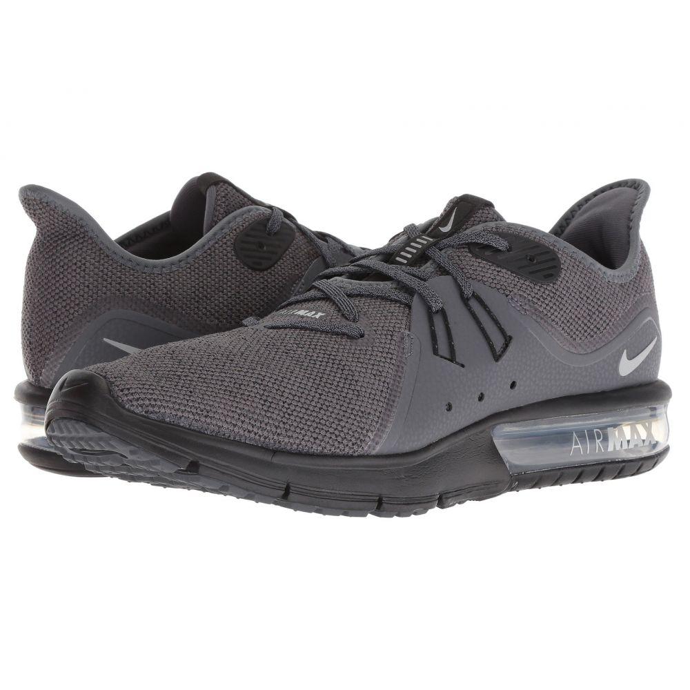 ナイキ メンズ ランニング・ウォーキング シューズ・靴【Air Max Sequent 3】Dark Grey/Metallic Silver/Black
