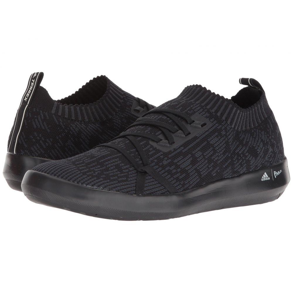 アディダス メンズ シューズ・靴 スニーカー【Terrex Boat DLX Parley】Black/Carbon/Chalk White